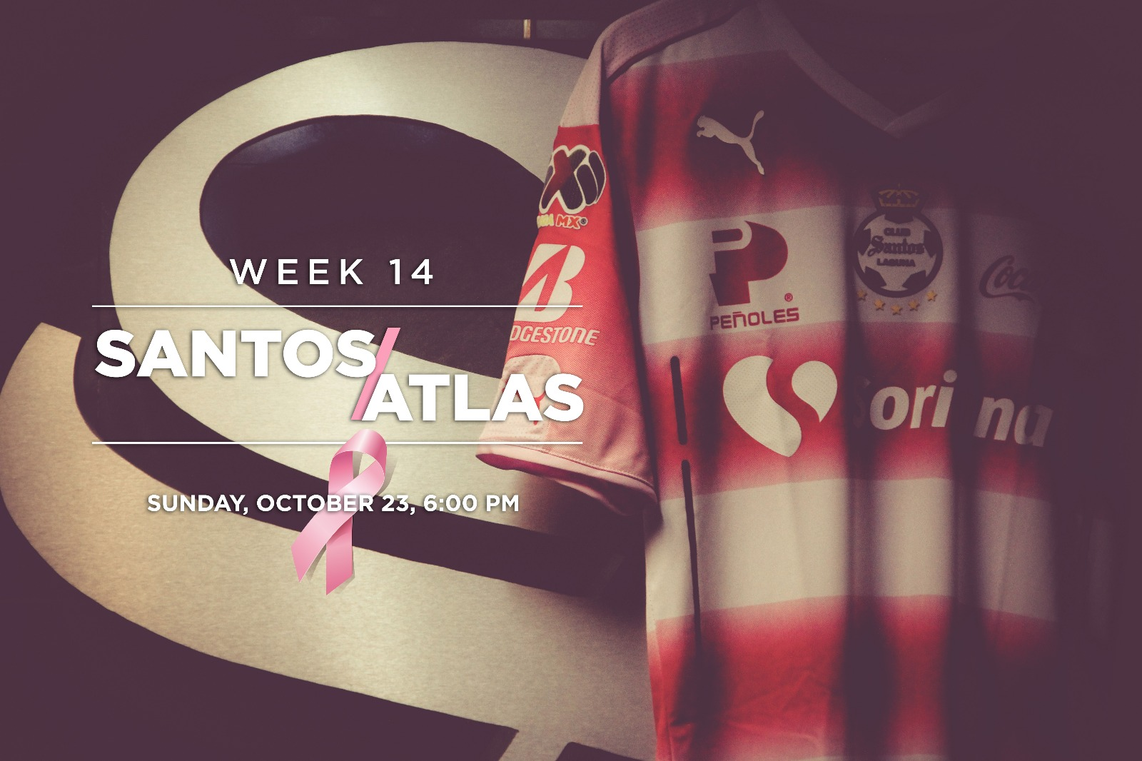 size 40 03012 7d959 Santos Laguna and Puma team up for Project Pink and donate ...