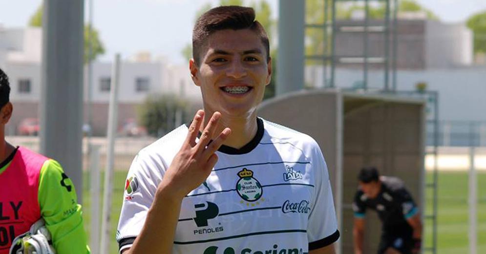 Ronaldo Cisneros Campeón de Goleo del Torneo Apertura 2017 Sub 20