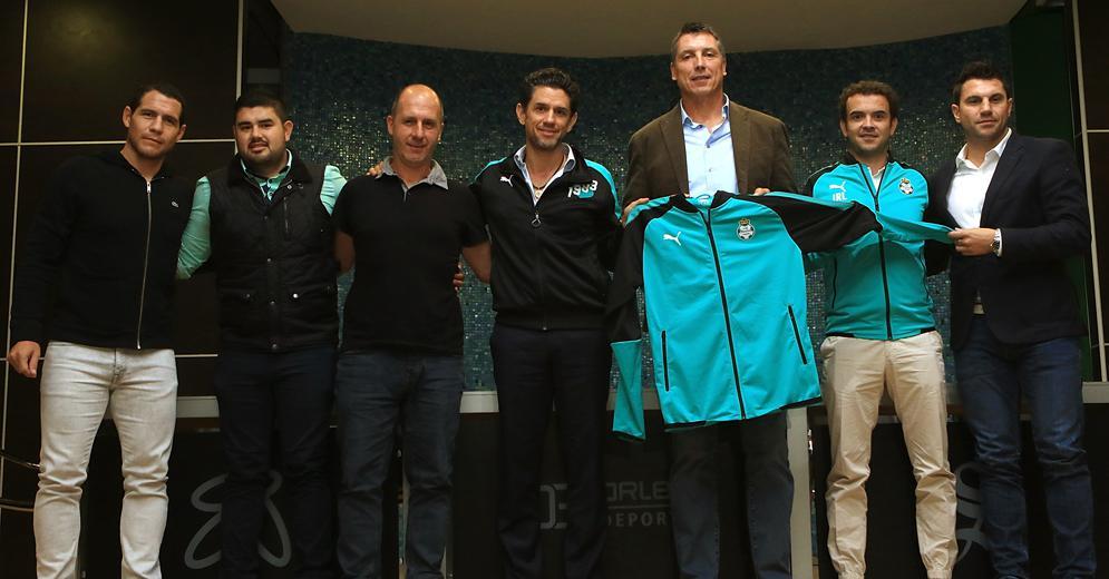 Santos Laguna presentó a su Cuerpo Técnico de cara al Torneo Clausura 2018