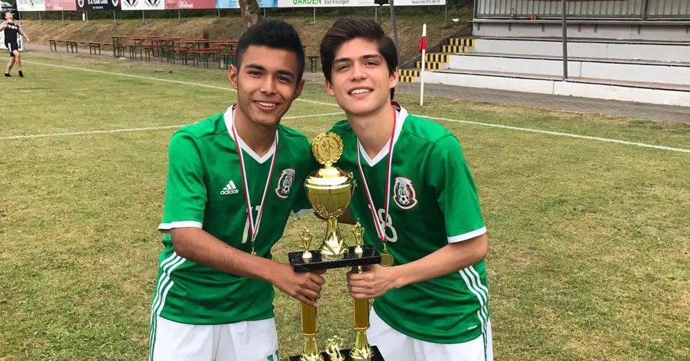 Ronaldo Zinedin y Sebastián Téllez convocados a la Selección Mexicana Sub 17