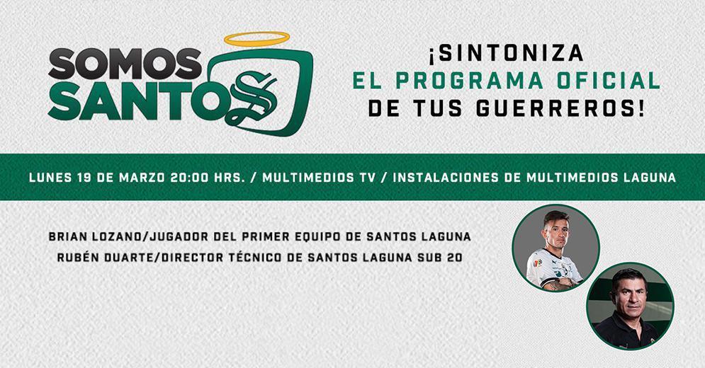 Somos Santos - Marzo 19, 2018