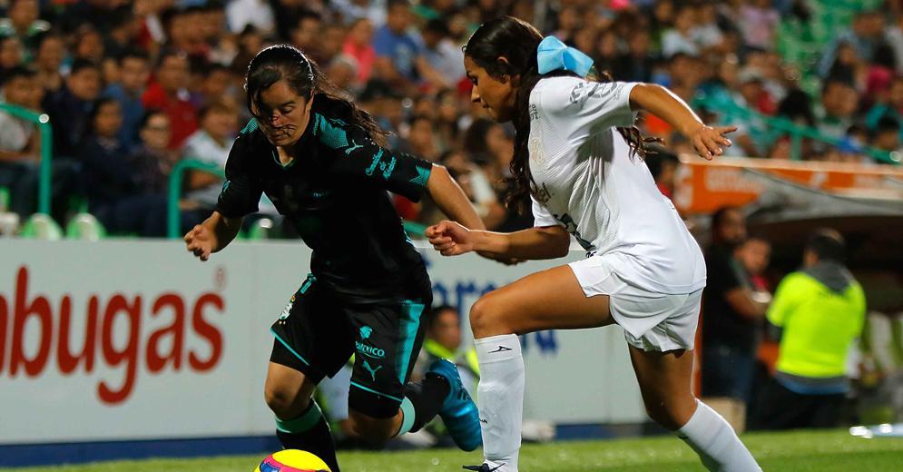 Nuevo triunfo de Santos Laguna Femenil en el Estadio Corona