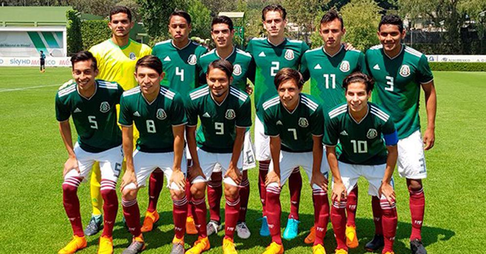 Adrián Lozano viajó a Brasil con la Selección Mexicana Sub 20