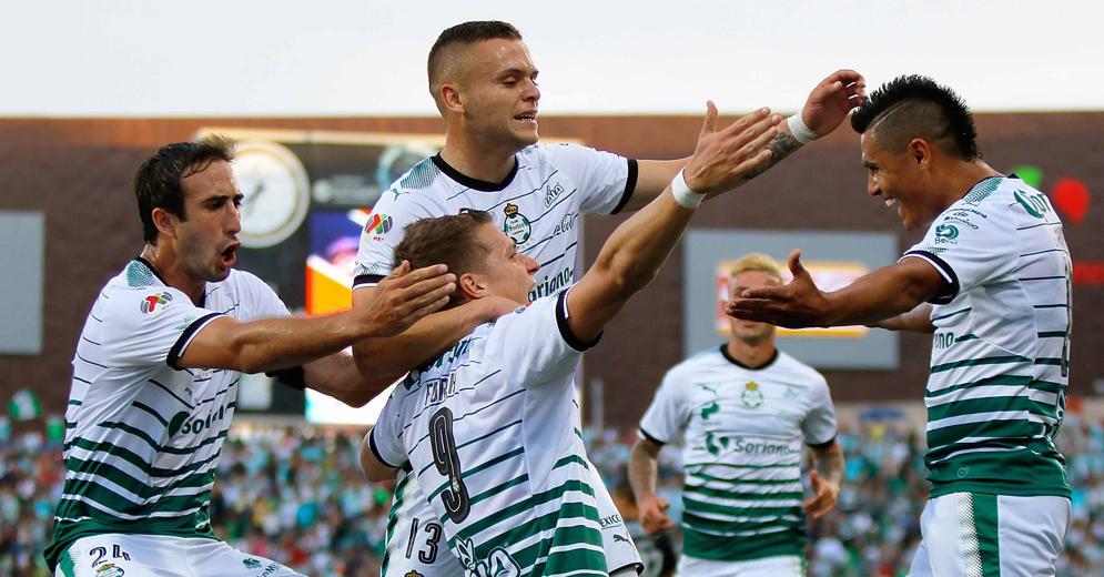 Santos Laguna encabeza diferentes rubros de la Liga MX