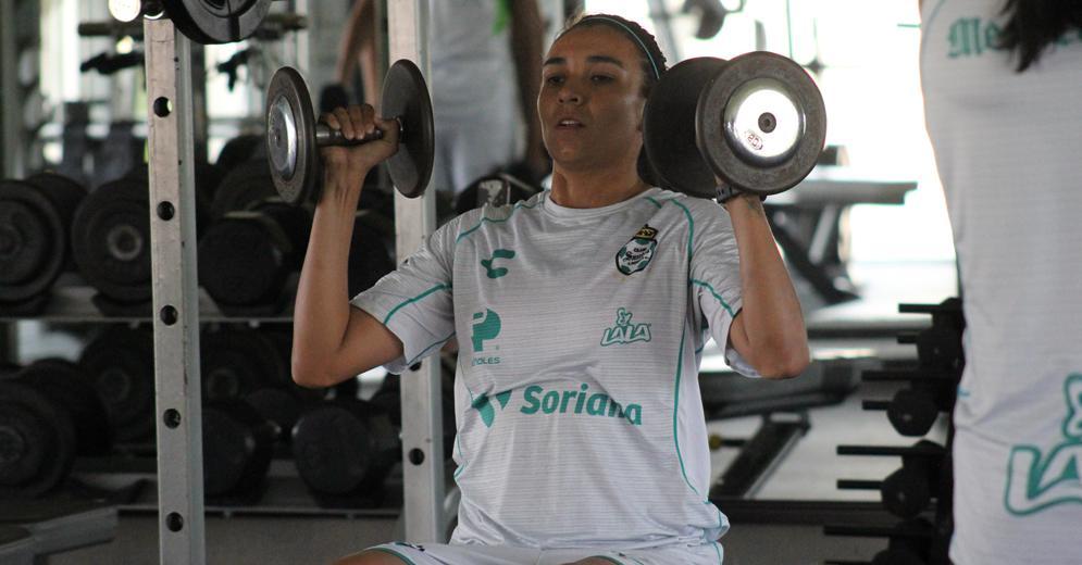 """""""El equipo está motivado luego de una victoria"""": Melissa Sosa"""