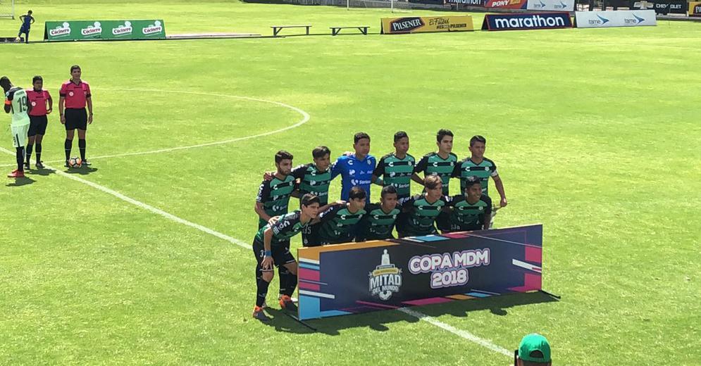 Santos Laguna Sub 17 continúa ganando experiencia internacional en Sudamérica
