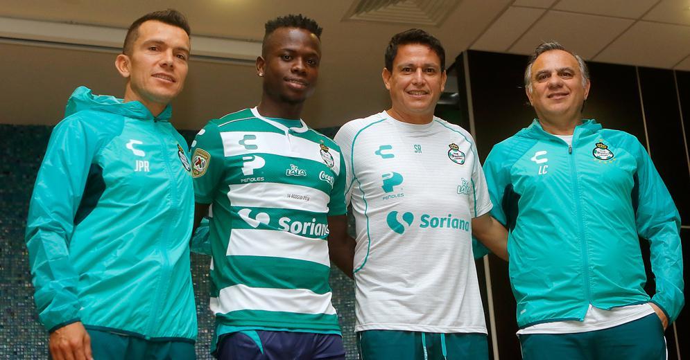 Presentación oficial de Juan Pablo Rodríguez, Luis Canay y Déinner Quiñones