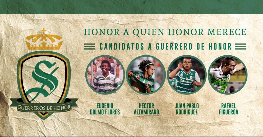Este lunes comenzará la votación para conocer al nuevo Guerrero de Honor