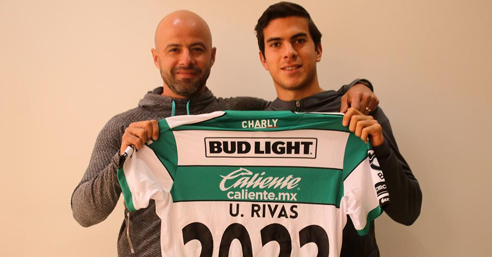 Ulises Rivas extends contract until 2022